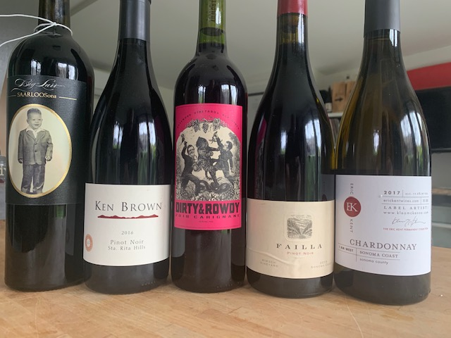 CA Wines for Quarantine